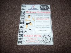 Bamber Bridge v Eastwood Town, 1993/94